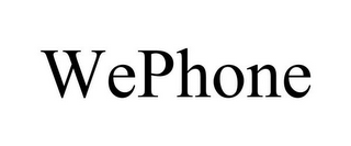 mark for WEPHONE, trademark #85941657