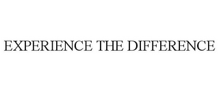 mark for EXPERIENCE THE DIFFERENCE, trademark #85941760