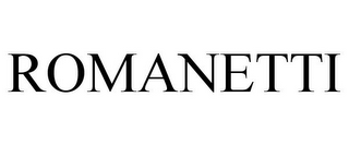 mark for ROMANETTI, trademark #85941862