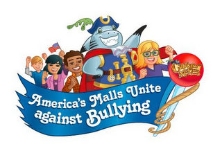 mark for AMERICA'S MALLS UNITE AGAINST BULLYING, CAPTAIN MCFINN AND FRIENDS, trademark #85942318