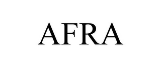 mark for AFRA, trademark #85942364