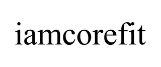 mark for IAMCOREFIT, trademark #85942435