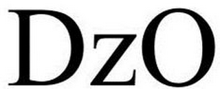 mark for DZO, trademark #85942747