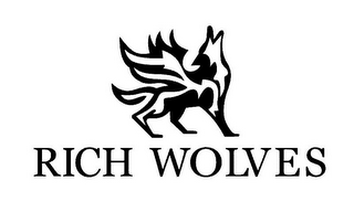 mark for RICH WOLVES, trademark #85942763