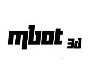 mark for MBOT 3D, trademark #85942951