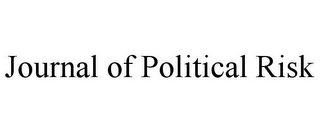 mark for JOURNAL OF POLITICAL RISK, trademark #85943218