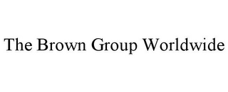 mark for THE BROWN GROUP WORLDWIDE, trademark #85943373