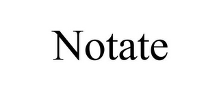mark for NOTATE, trademark #85943812