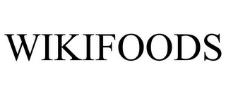 mark for WIKIFOODS, trademark #85944262