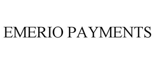 mark for EMERIO PAYMENTS, trademark #85944761