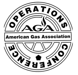 mark for AGA AMERICAN GAS ASSOCIATION OPERATIONS CONFERENCE, trademark #85944790