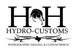 mark for H&H HYDRO-CUSTOMS HYDROGRAPHIC IMAGING & CUSTOM DESIGN, trademark #85944934