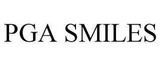 mark for PGA SMILES, trademark #85945009