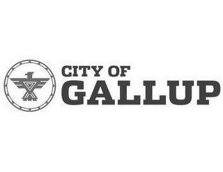 mark for CITY OF GALLUP, trademark #85945245