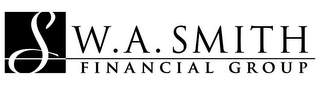 mark for S W.A. SMITH FINANCIAL GROUP, trademark #85945436
