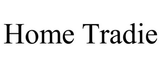 mark for HOME TRADIE, trademark #85945752