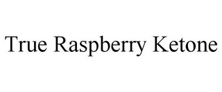 mark for TRUE RASPBERRY KETONE, trademark #85945778