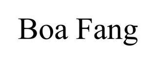 mark for BOA FANG, trademark #85946105