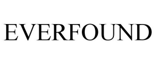 mark for EVERFOUND, trademark #85946166
