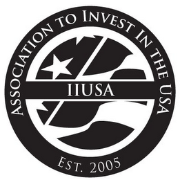 mark for ASSOCIATION TO INVEST IN THE USA IIUSA EST. 2005, trademark #85946176