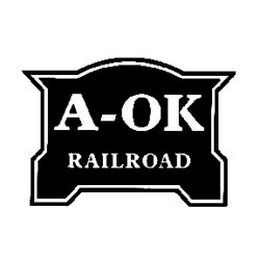 mark for A-OK RAILROAD, trademark #85946256