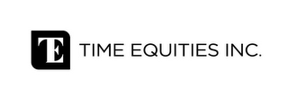 mark for TE TIME EQUITIES INC., trademark #85946551