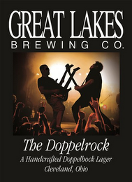 mark for GREAT LAKES BREWING CO. THE DOPPELROCK A HANDCRAFTED DOPPELBOCK LAGER CLEVELAND, OHIO, trademark #85946754