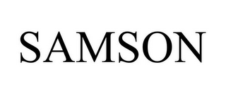 mark for SAMSON, trademark #85947054