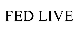 mark for FED LIVE, trademark #85947113