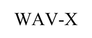 mark for WAV-X, trademark #85947475