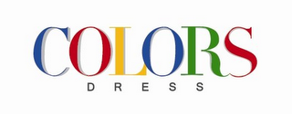 mark for COLORS DRESS, trademark #85947719