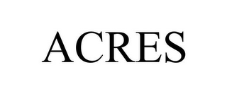 mark for ACRES, trademark #85947854