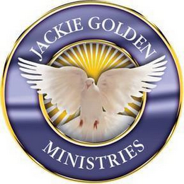 mark for JACKIE GOLDEN MINISTRIES, trademark #85948362