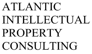 mark for ATLANTIC INTELLECTUAL PROPERTY CONSULTING, trademark #85948504
