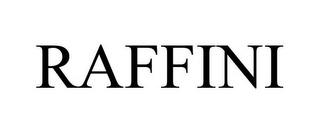 mark for RAFFINI, trademark #85948528