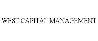 mark for WEST CAPITAL MANAGEMENT, trademark #85948633