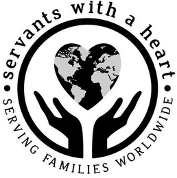 mark for SERVANTS WITH A HEART SERVING FAMILIES WORLDWIDE, trademark #85948672