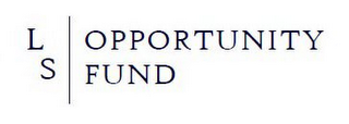 mark for LS OPPORTUNITY FUND, trademark #85948692