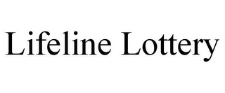 mark for LIFELINE LOTTERY, trademark #85948774