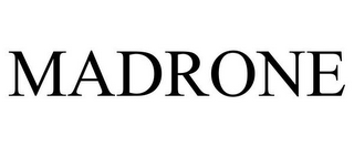 mark for MADRONE, trademark #85949008