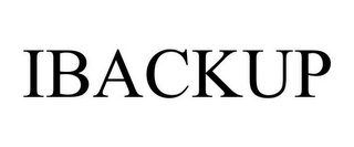 mark for IBACKUP, trademark #85949593