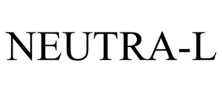 mark for NEUTRA-L, trademark #85949692