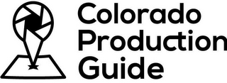 mark for COLORADO PRODUCTION GUIDE, trademark #85949814