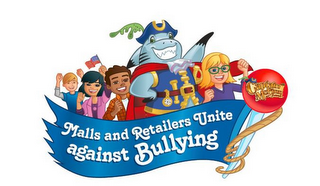 mark for CAPTAIN MCFINN AND FRIENDS, MALLS AND RETAILERS UNITE AGAINST BULLYING, trademark #85949944