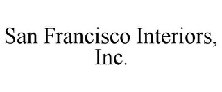 mark for SAN FRANCISCO INTERIORS, INC., trademark #85950229