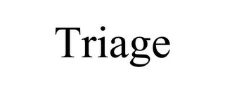 mark for TRIAGE, trademark #85950859