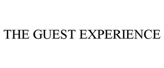 mark for THE GUEST EXPERIENCE, trademark #85950972