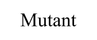 mark for MUTANT, trademark #85951296