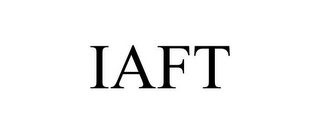 mark for IAFT, trademark #85951488