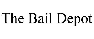 mark for THE BAIL DEPOT, trademark #85951814